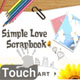 Simple Love Scrapbook Touch