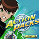 play casual Ben 10 Action Packs games online